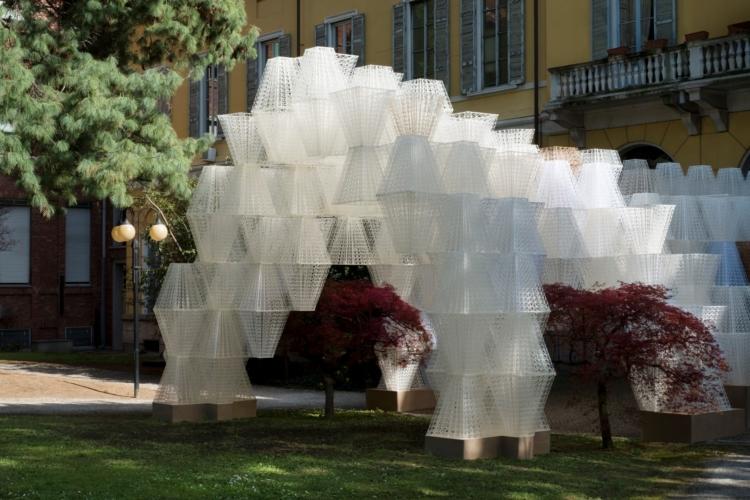 Milano Design Week 2019 COS Conifera: l'installazione a Palazzo Isimbardi
