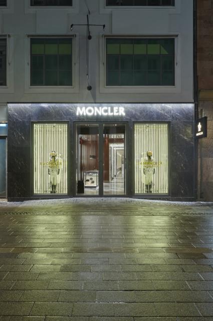 Moncler boutique Copenaghen