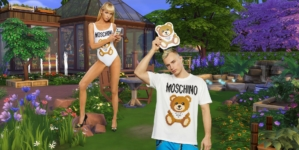 Moschino X The Sims: la nuova pixel capsule collection