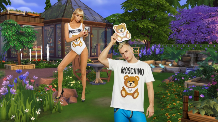 Moschino X The Sims: la nuova pixel capsule collection