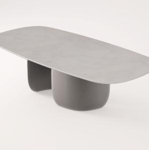 Salone del Mobile 2019 Bartoli Design: il tavolo da interni Mellow per Bonaldo