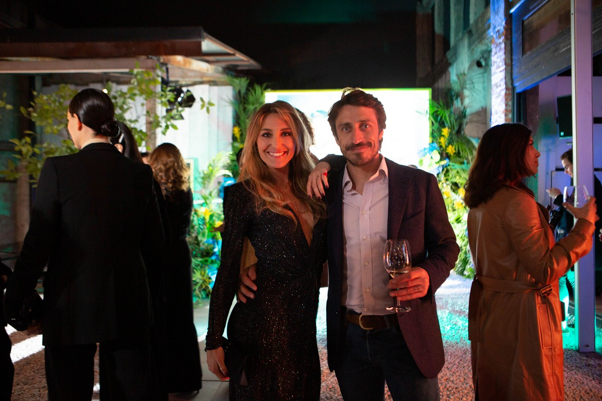 Trussardi Riflesso Blue Vibe party