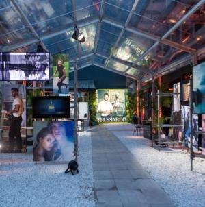 Trussardi Riflesso Blue Vibe party: la cena per il lancio della fragranza maschile