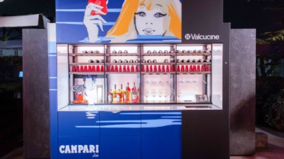 Valcucine Logica Celata Bar: il party evento per la Design Week