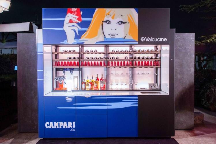 Valcucine Logica Celata Bar: il party evento per la Design Week