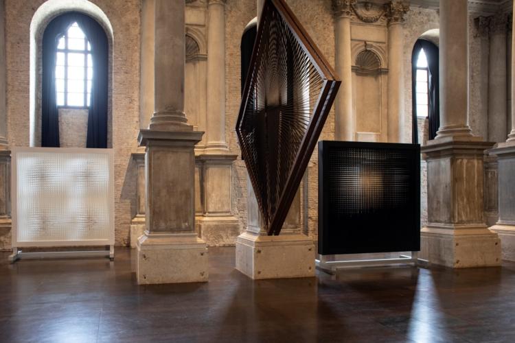 Alcantara progetti arte 2019: la mostra Alberto Biasi, la materia della visione