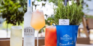Belvedere Branches Pandenus Milano: i nuovi signature cocktails accostati a un food paring stellato