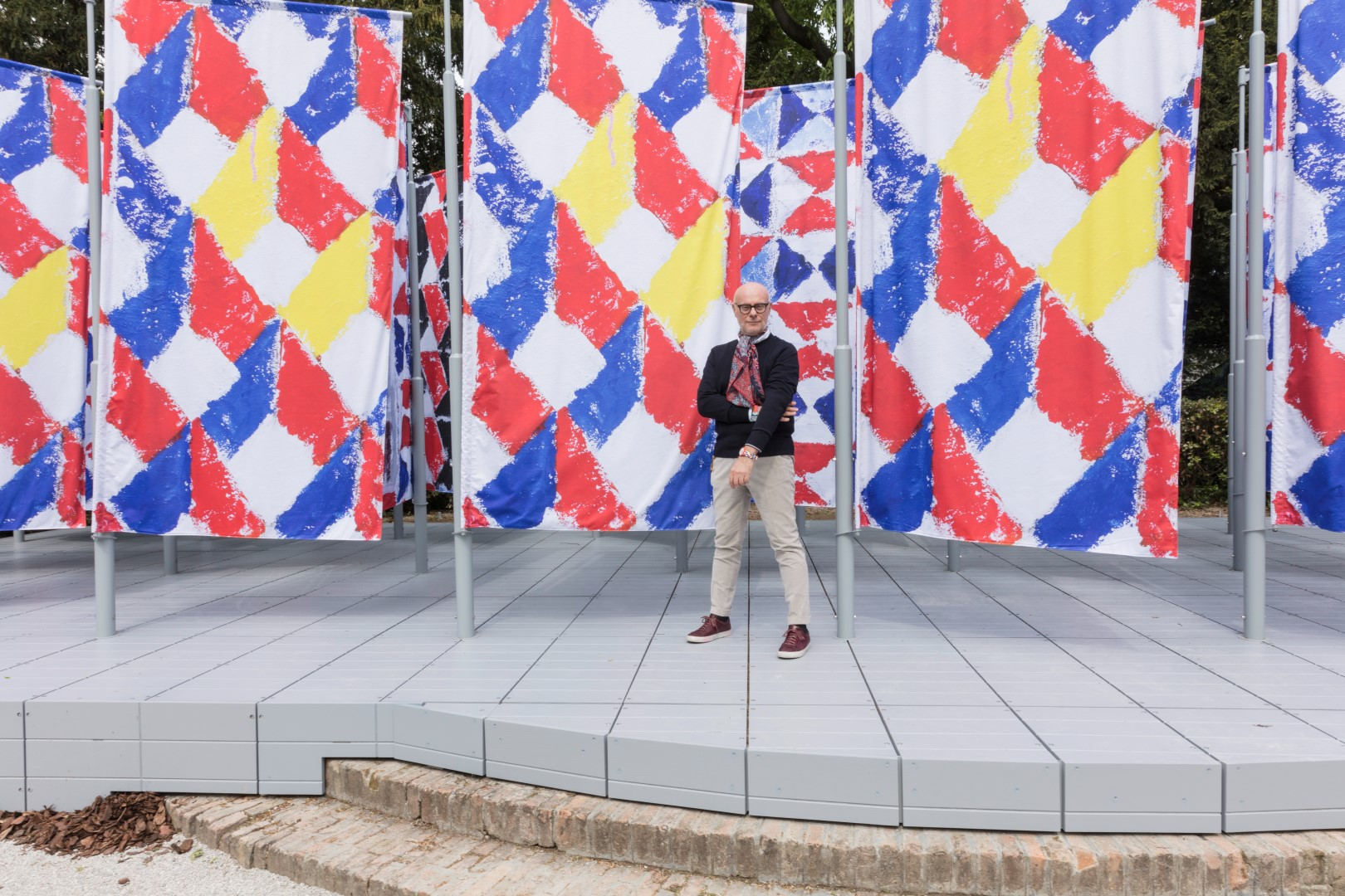 Biennale Venezia Arte 2019 The Flags