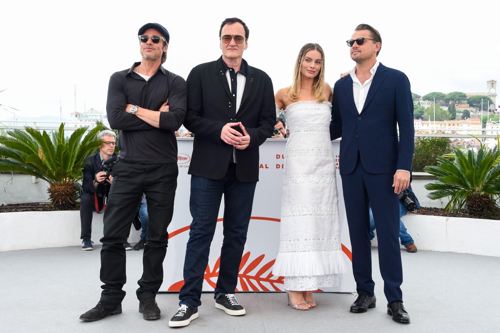 Cannes 2019 Brad Pitt