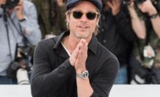 Cannes 2019 Brad Pitt: al polso dell'attore il Breitling Premier B01 Chronograph 42