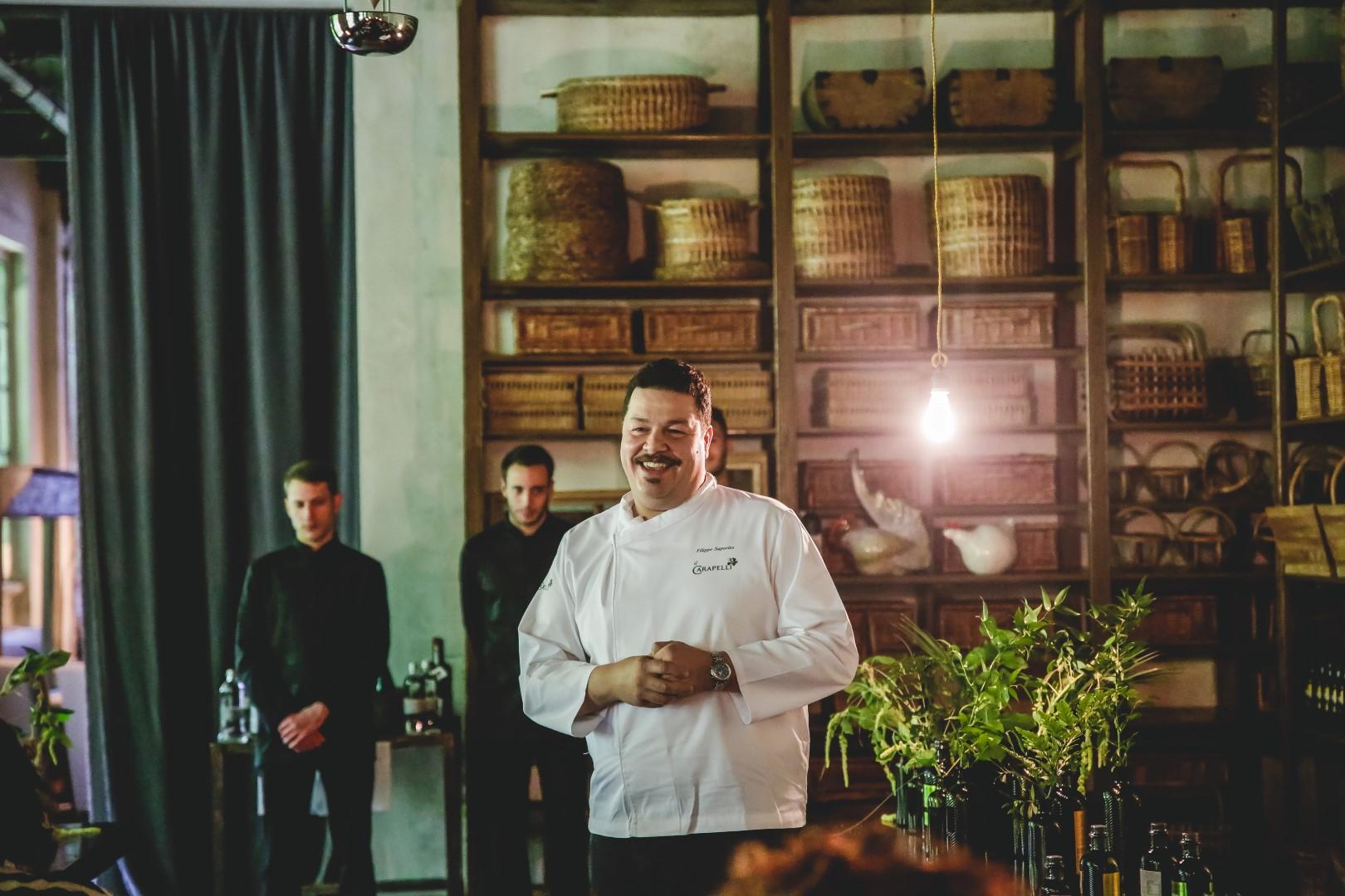 Carapelli Milano ristorante temporary