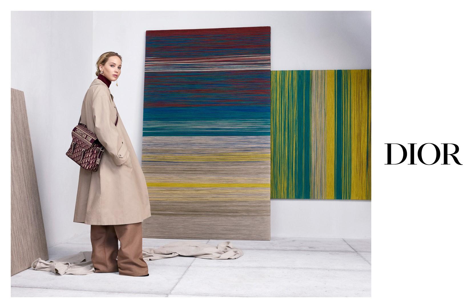 Dior Jennifer Lawrence autunno 2019