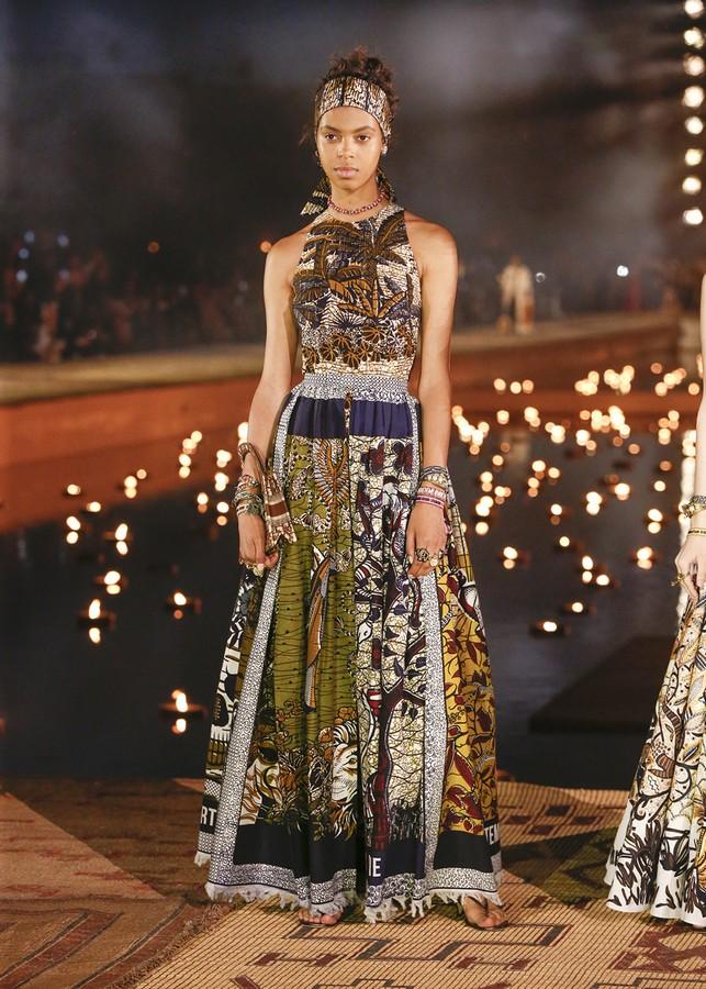 Dior sfilata Cruise 2020 Marrakech