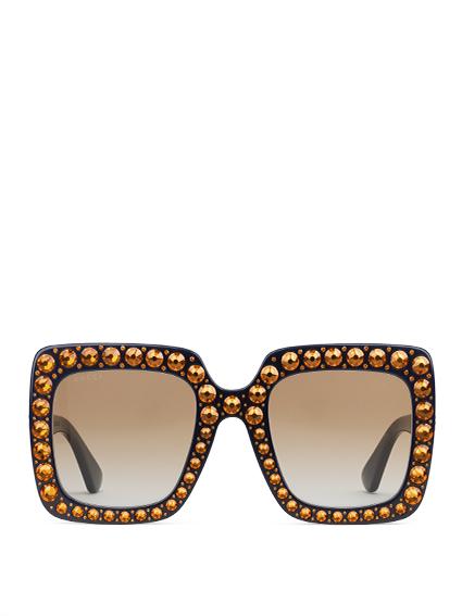 Gucci Elton John occhiali da sole