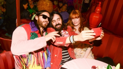 Gucci nuovi rossetti 2019: il party a New York con Jared Leto, Dani Miller e Florence Welch