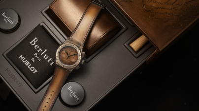 Hublot Classic Fusion Chronograph Berluti 2019: l'arte della fusione