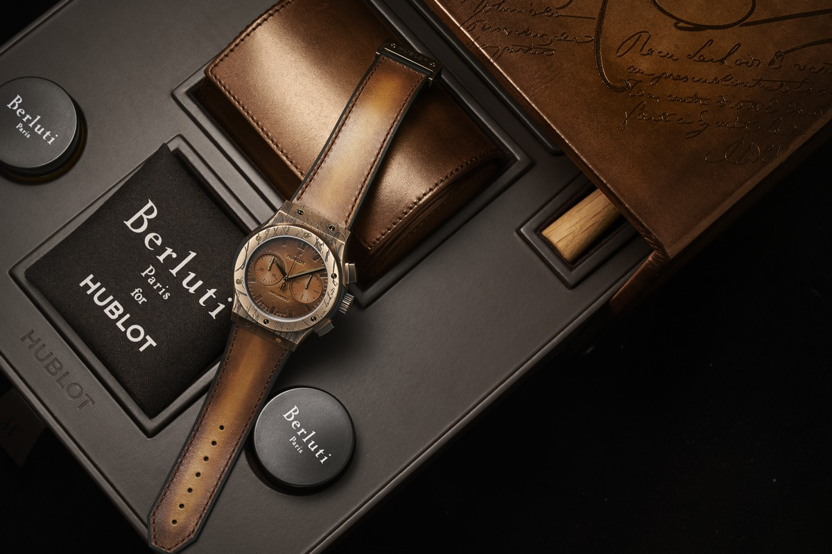 Hublot Classic Fusion Chronograph Berluti 2019