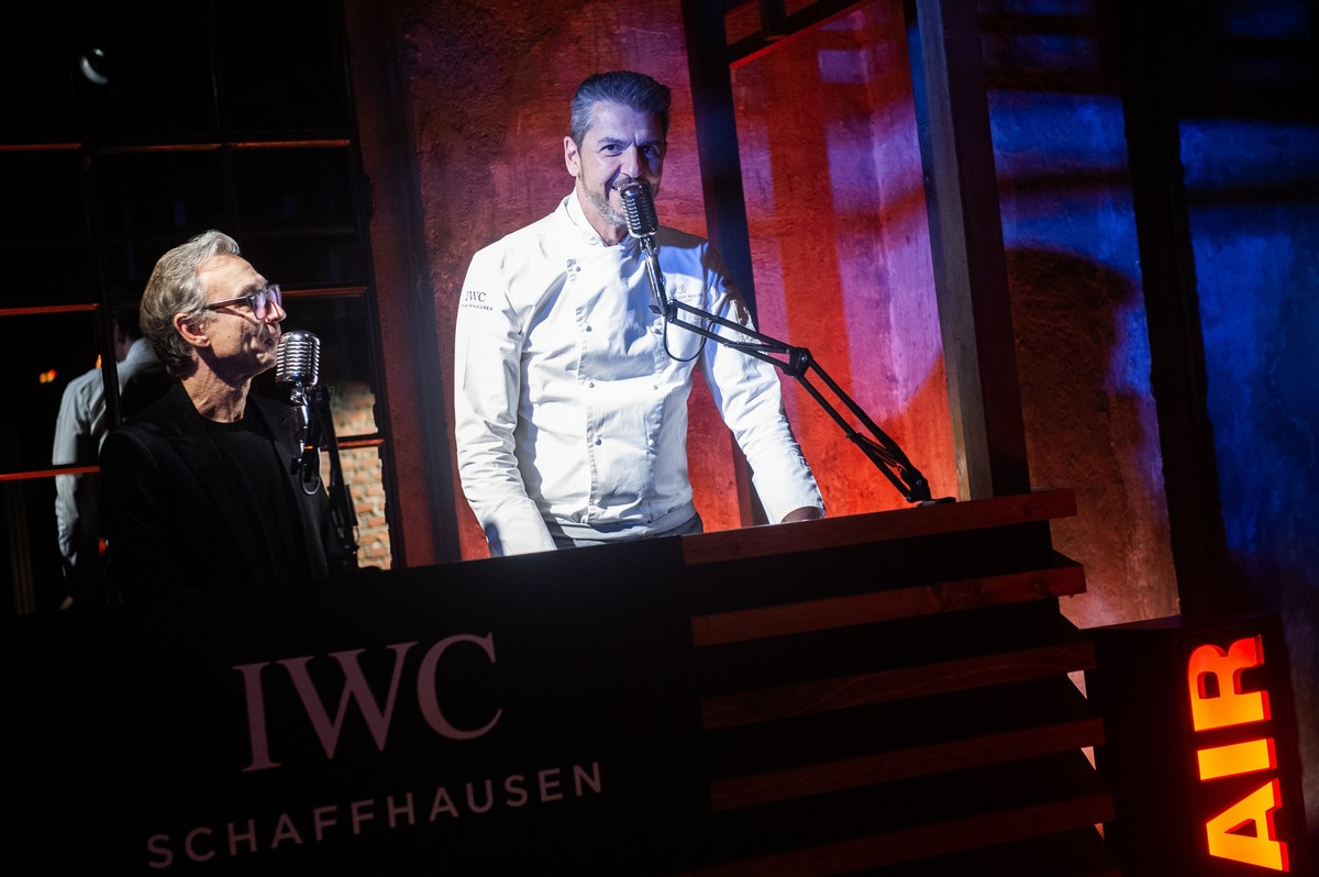 IWC Spitfire party Milano 2019