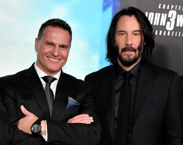 John Wick 3 premiere New York: Keanu Reeves e Halle Berry indossano Carl F. Bucherer