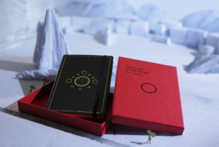 Moleskine Il Signore degli anelli: la collezione di taccuini in edizione limitata