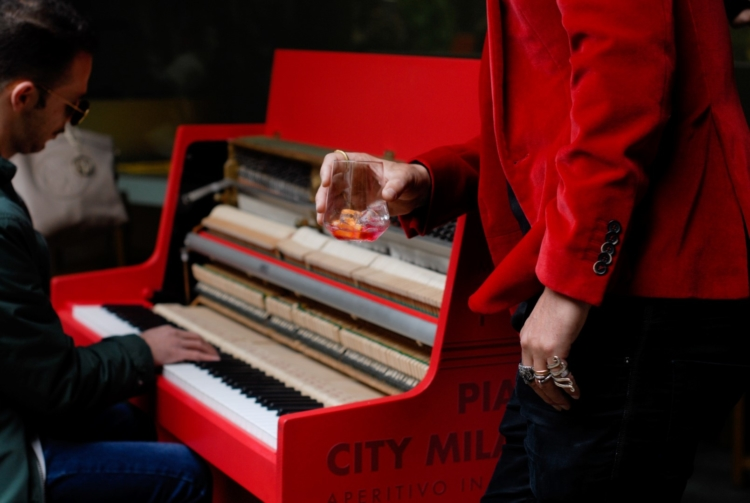 Piano City Milano 2019 Campari Soda