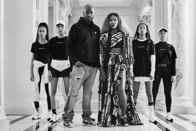 Serena Williams Nike Off-White: la capsule collection Cape Jacket