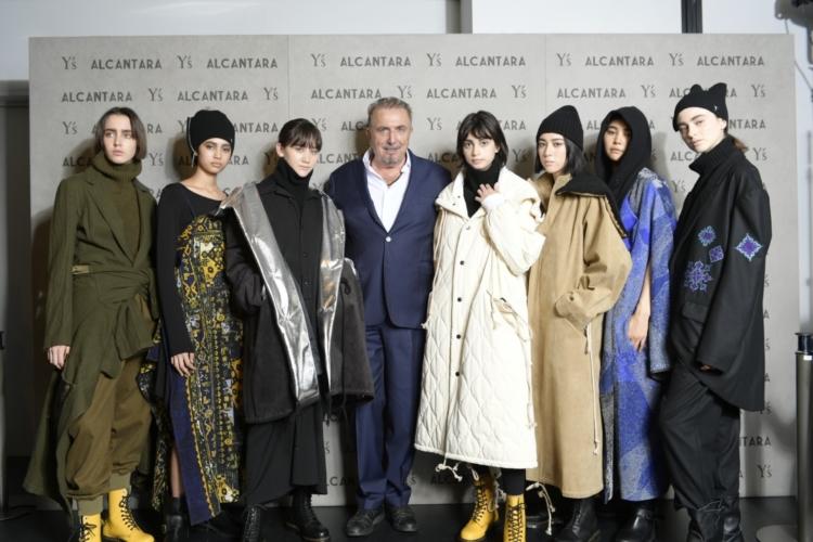 Y's Alcantara autunno inverno 2019: la capsule collection svelata a Tokyo