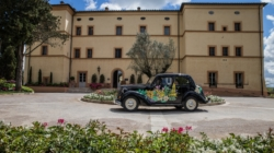 Belmond Villa San Michele Garage Italia: in Toscana con la Fiat 1100 Musone elettrica