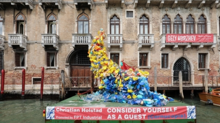 Biennale Arte Venezia 2019 Christian Holstad: l'installazione Consider yourself as a guest