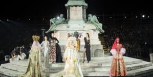 CR Runway LuisaViaRoma sfilata Firenze: special guest Lenny Kravitz, in passerella Gigi Hadid e Irina Shayk