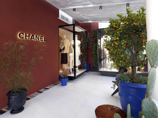 Chanel Capri pop up: la boutique nel cuore dell'isola incantata
