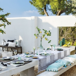 Coincasa collezione estate 2019: il Mar Mediterraneo, i suoi colori e le sue tradizioni