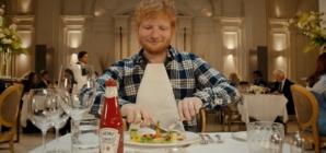 Ed Sheeran Heinz Ketchup: lo spot, la speciale Edchup e la ricetta di Andrea Berton