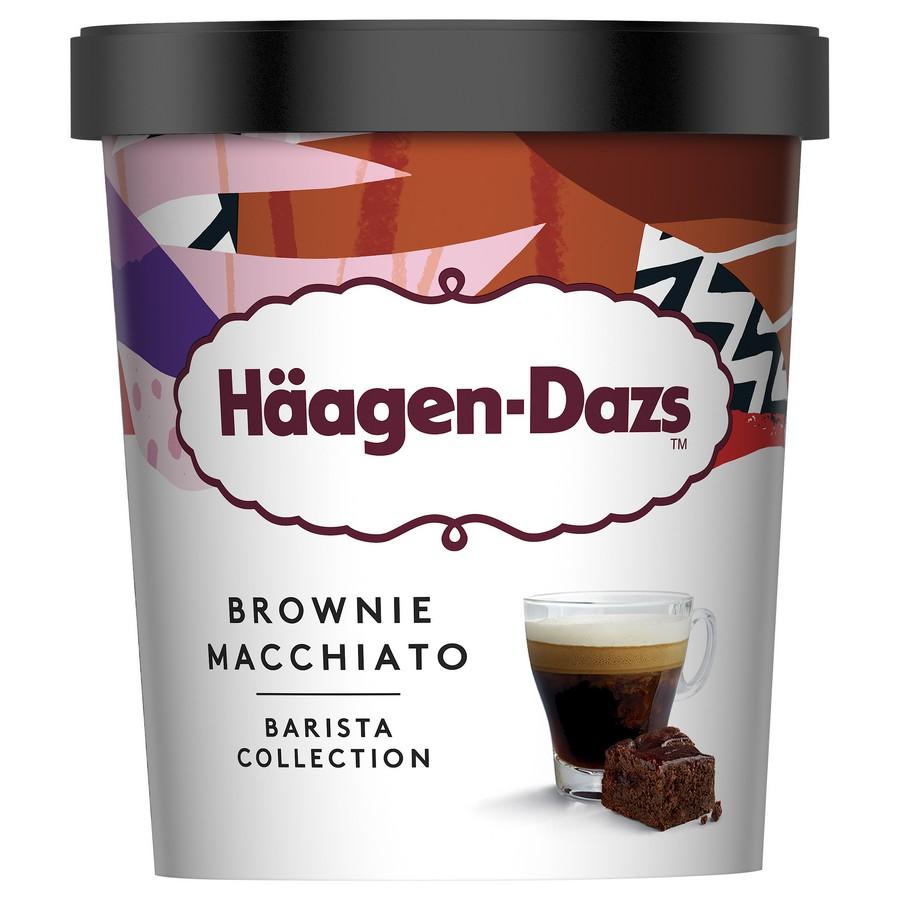Haagen Dazs Brownie Macchiato