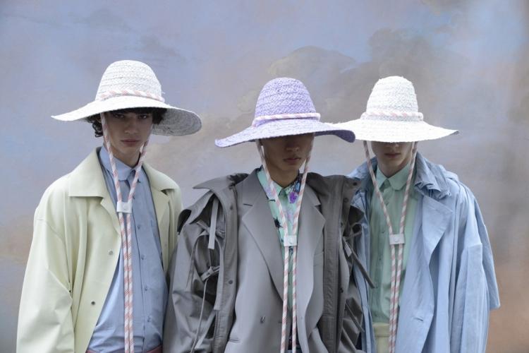 Louis Vuitton Uomo primavera estate 2020: la meraviglia della natura, la sfilata