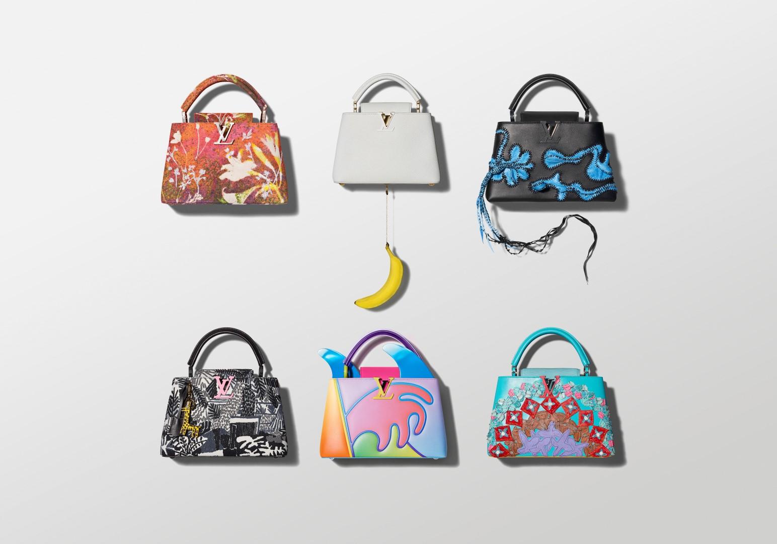 Louis Vuitton borse Capucines