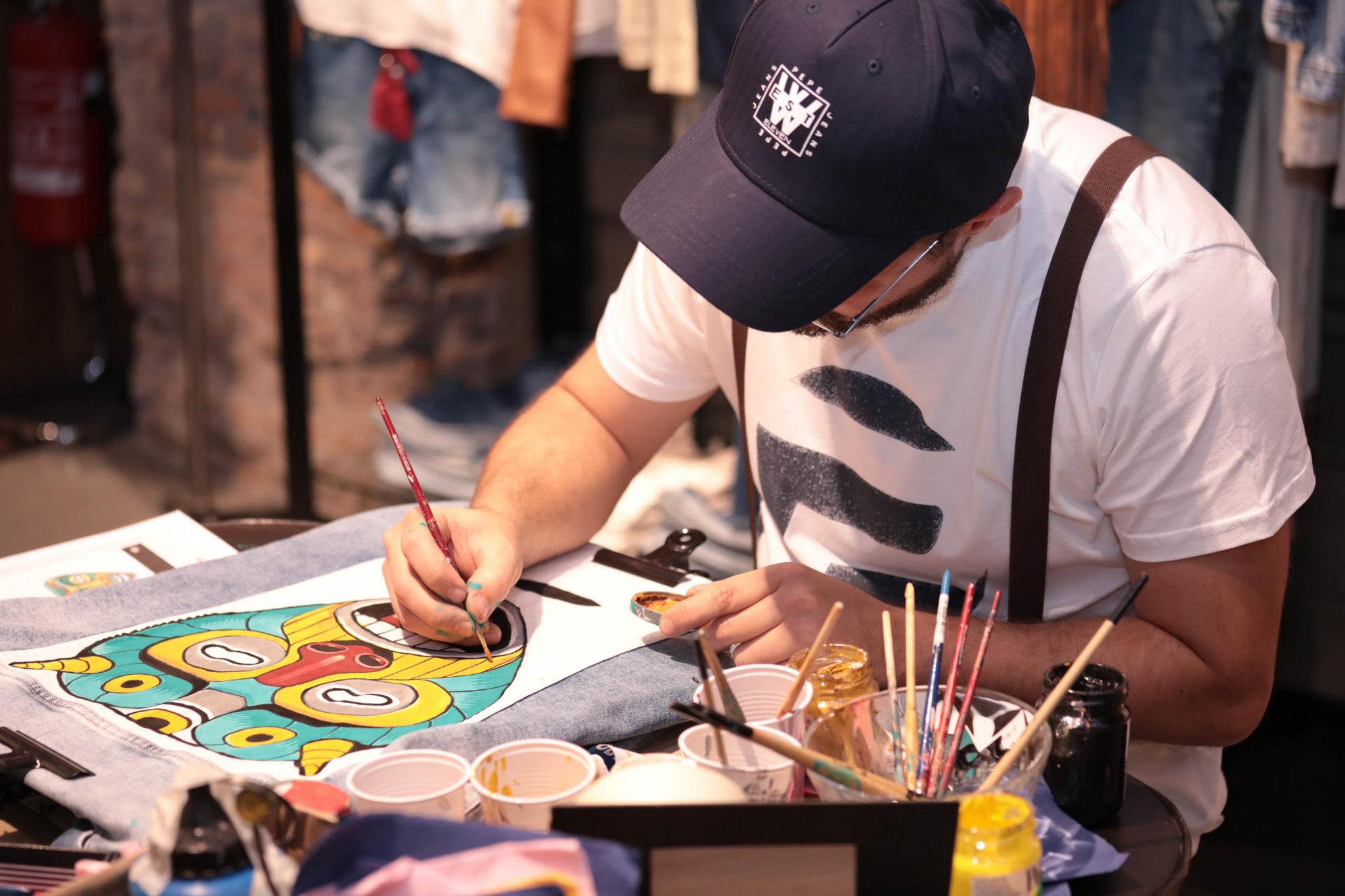 Pepe Jeans London Custom Studio