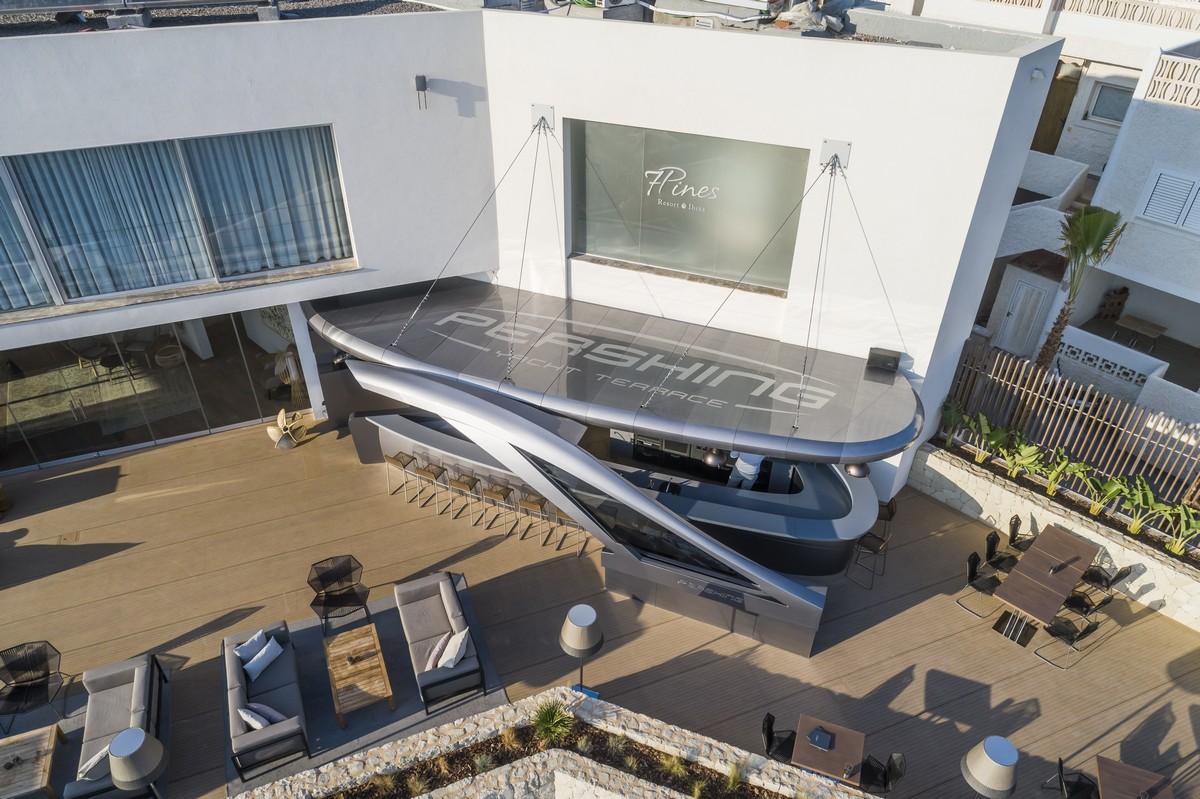 Pershing Yacht Terrace Ibiza
