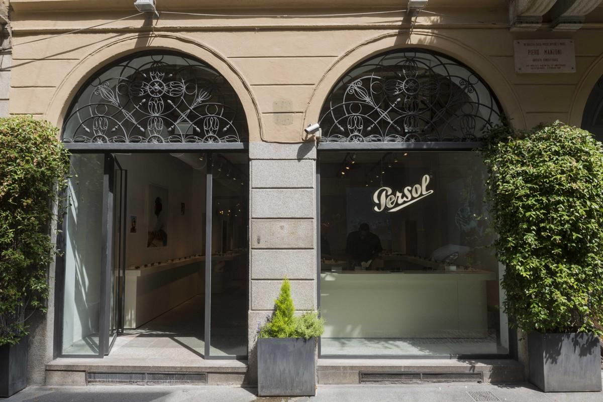 Persol Brera temporary store