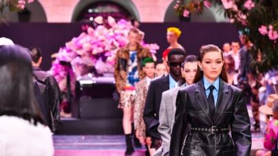Versace Uomo primavera estate 2020: libertà di osare, in passerella Gigi e Bella Hadid