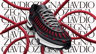 Zegna XXX My Claudio: la nuova sneaker interamente personalizzabile