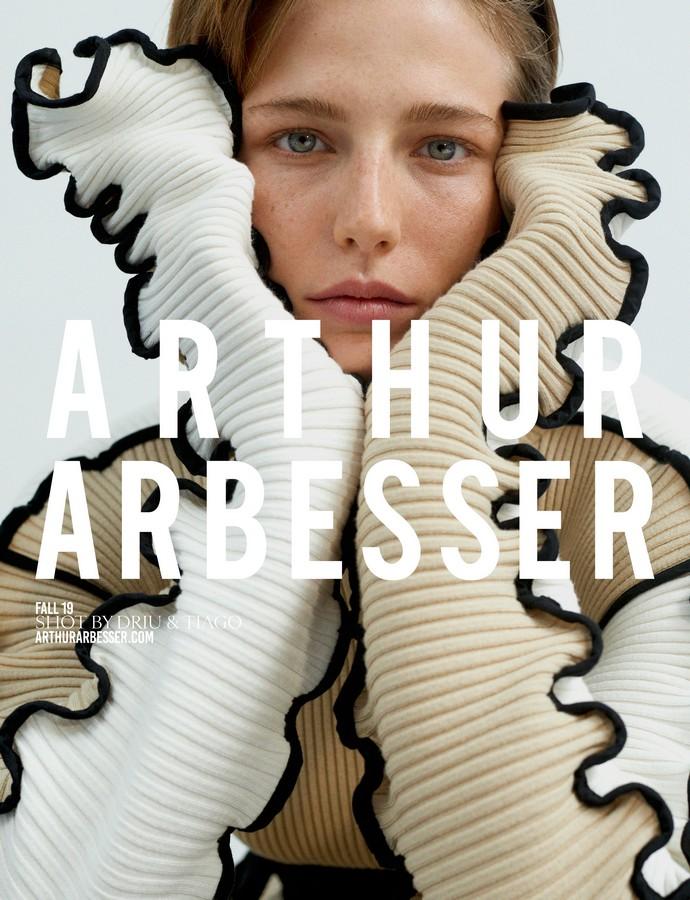 Arthur Arbesser campagna autunno inverno 2019