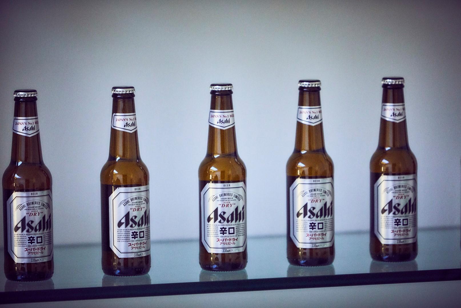 Asahi birra Super Dry