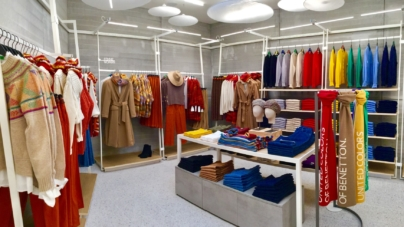 Benetton Deauville: riaperto lo store con il concept Light Colors