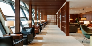 Cathay Pacific lounge Shanghai Pudong: il restyling con The Noodle Bar e The Terrace