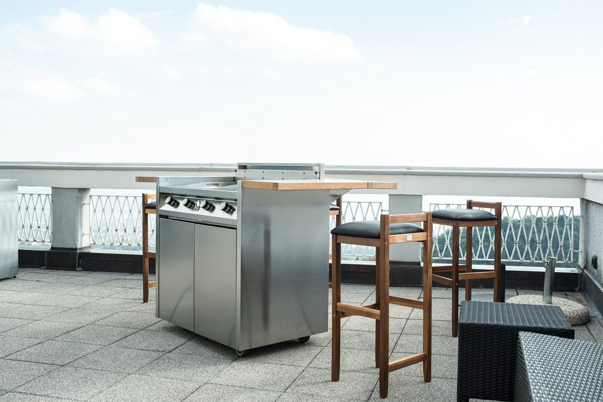Cucine da esterno moderne