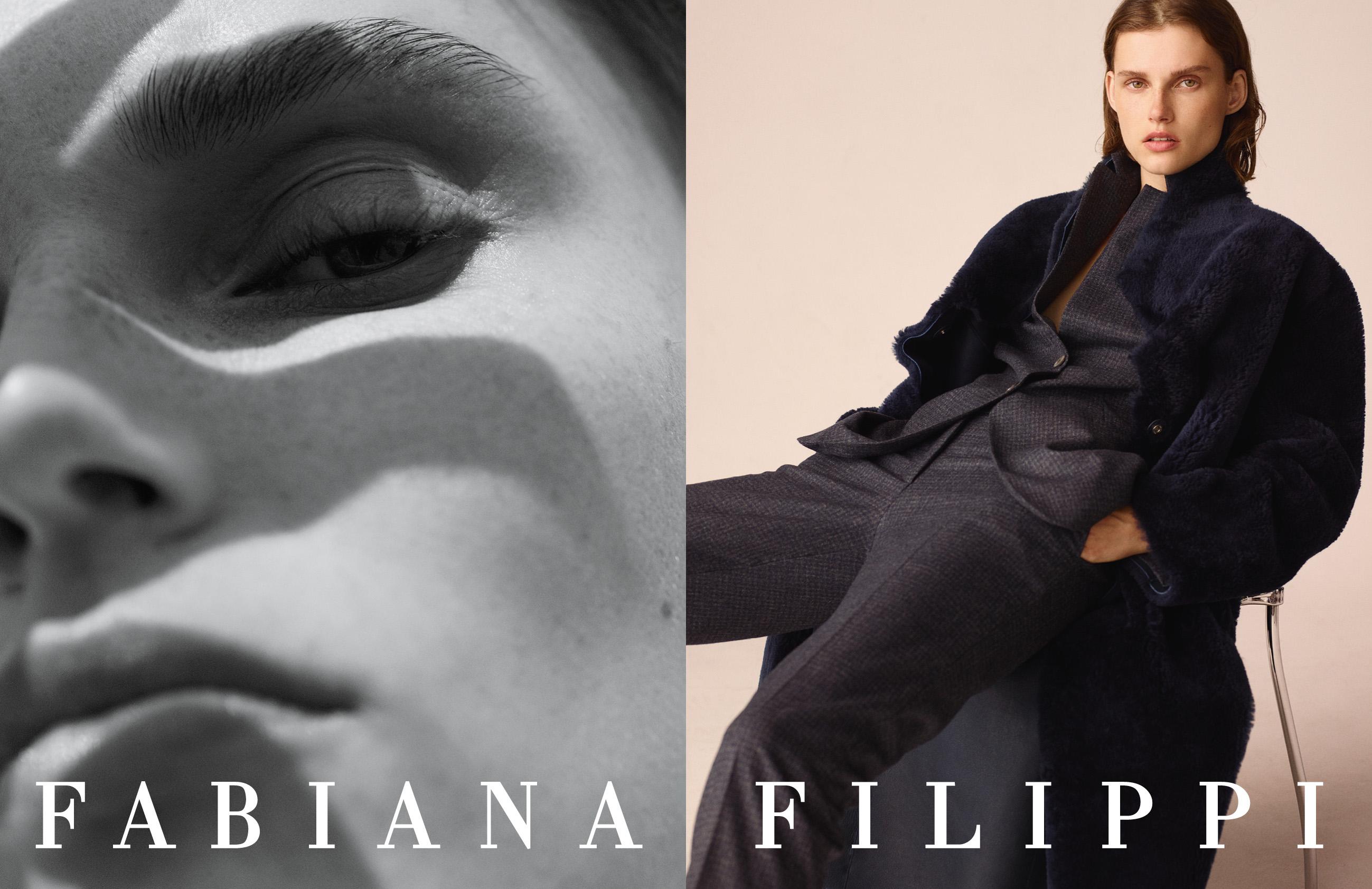 Fabiana Filippi campagna autunno inverno 2019