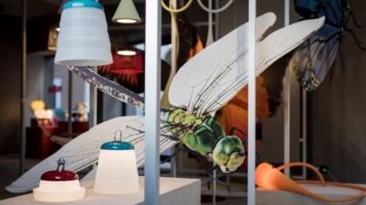 Foscarini lampade da esterno: il nuovo allestimento estivo di Spazio Monforte