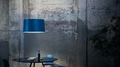 Foscarini lampade design 2019: dalla Birdie alla Binic, tutte le sfumature del blu