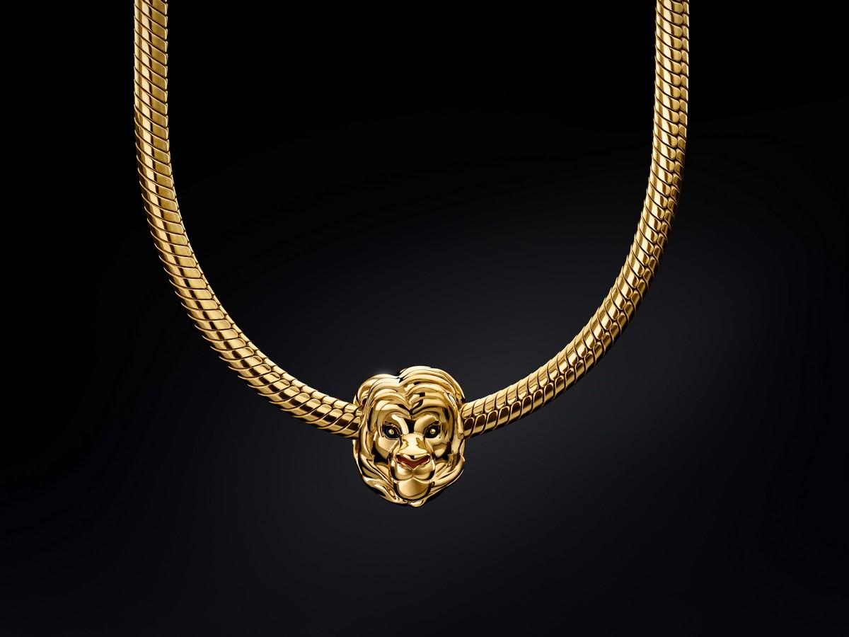 pandora bracciale originale re leone